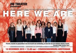 A5 flyer_HereWeAre_Voorkant