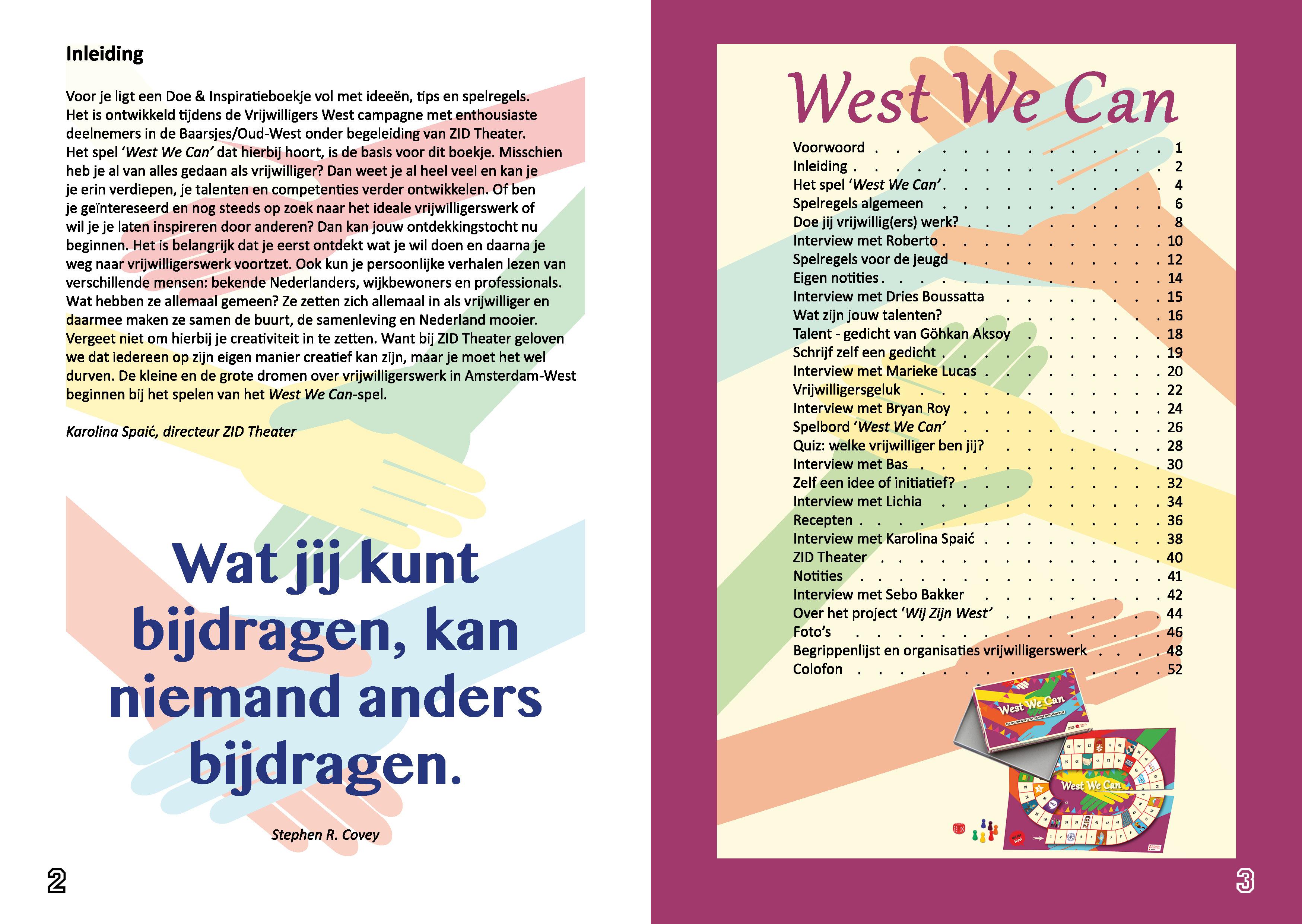 Boekje West We Can 3