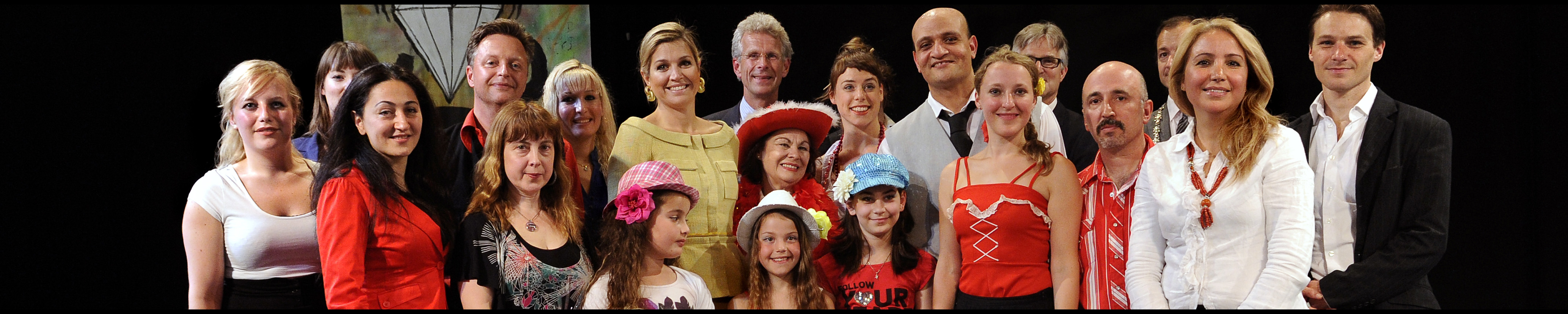 Queen Maxima visits the ZID Theater