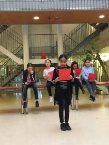 Eindpresentatie van de kinderen van de El Amien school @ ZID Theater  | Amsterdam | Noord-Holland | Nederland