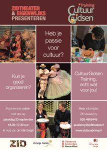 Theatrale informatiebijeenkomst training CultuurGidsen Nieuw Sloten @ Huis van de Wijk, België | Amsterdam | Noord-Holland | Nederland