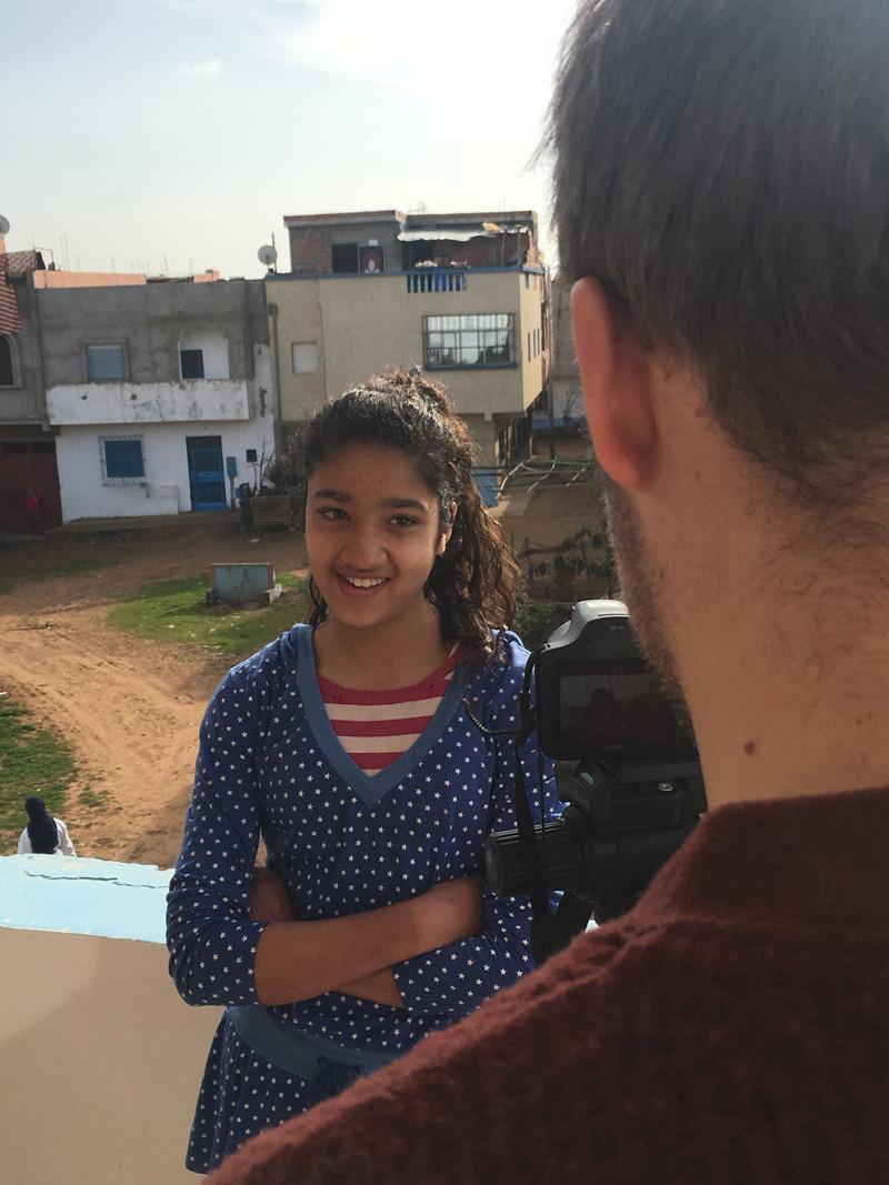 interview op het dak van DAR Amsterdam