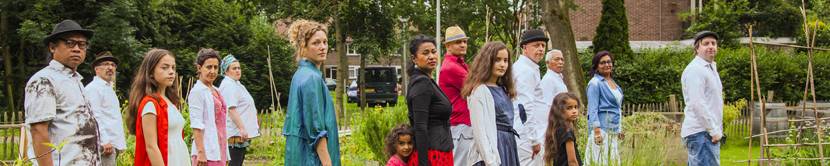 Love Now, community garden in Amsterdam